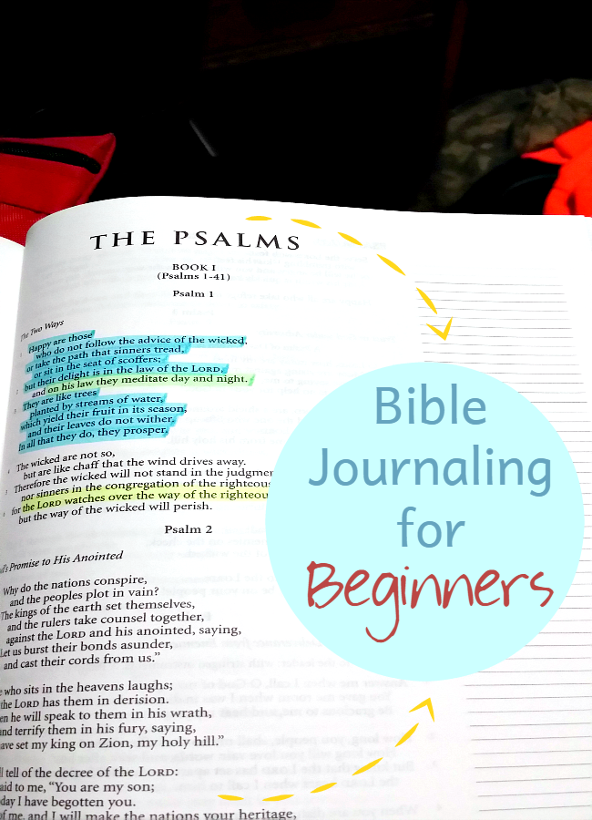Journaling Bible Picture