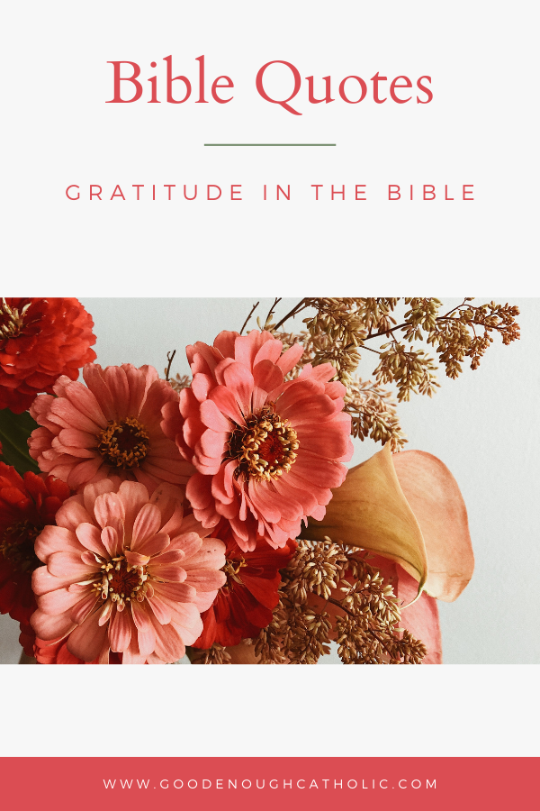 Bible Quotes Gratitude in the Bible