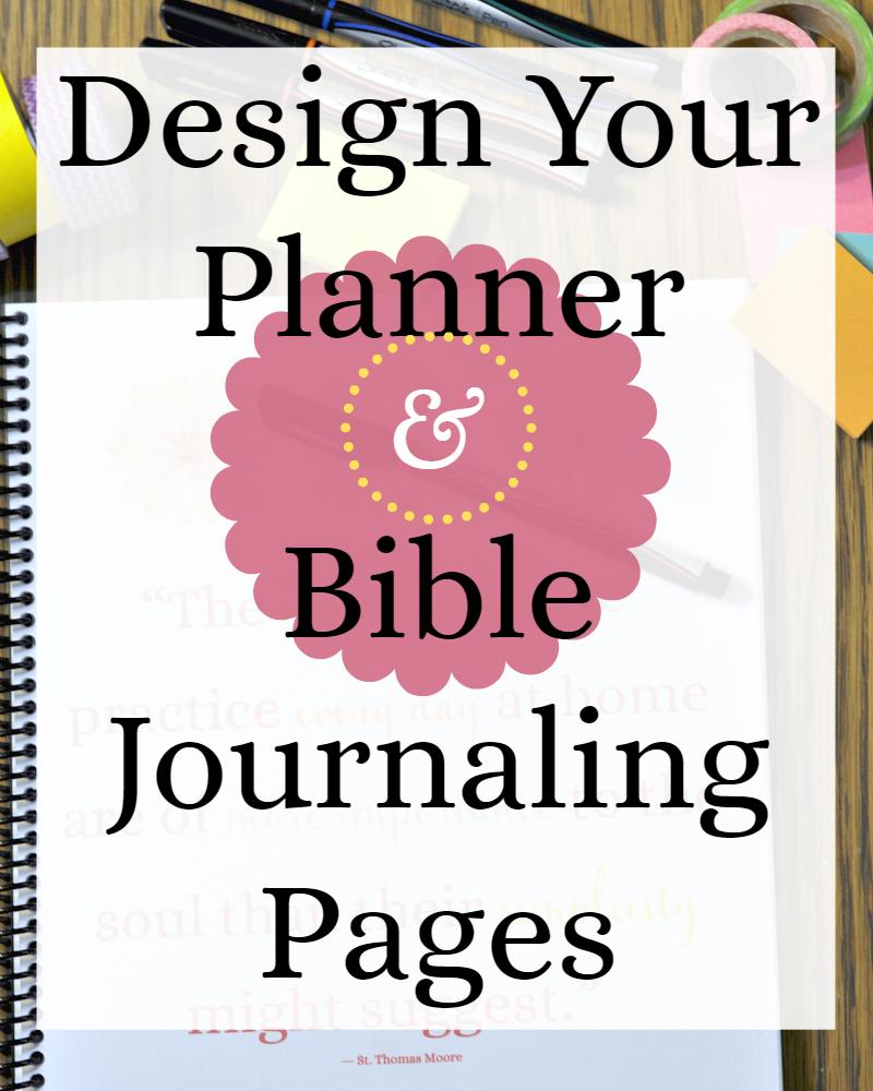 Bible Journaling Printables