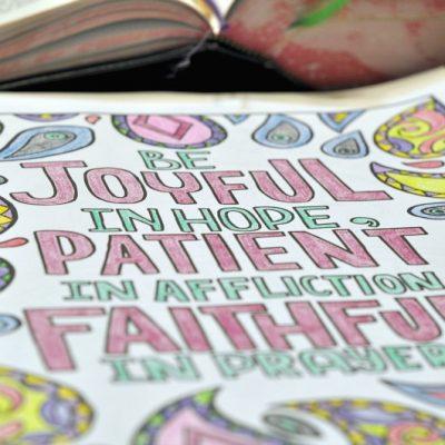 Catholic Bible Journaling