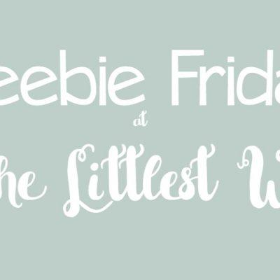 Freebie Friday: Sirach 2