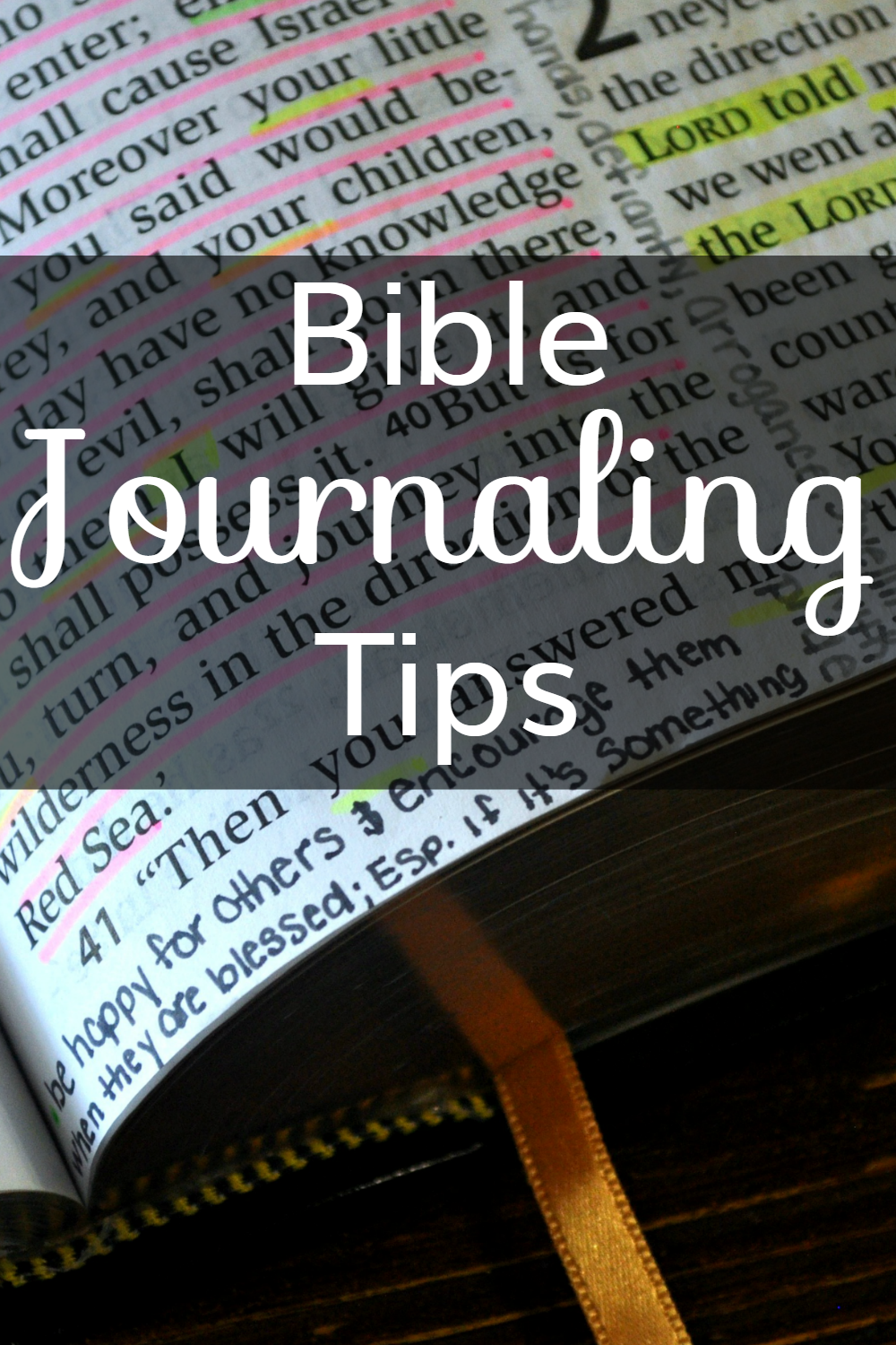 Bible Journaling Tips: Creating a Biblical Legacy