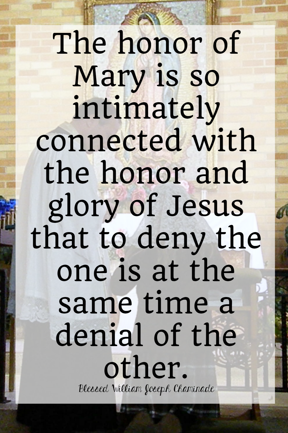 Saints Quotes Jesus and Mary