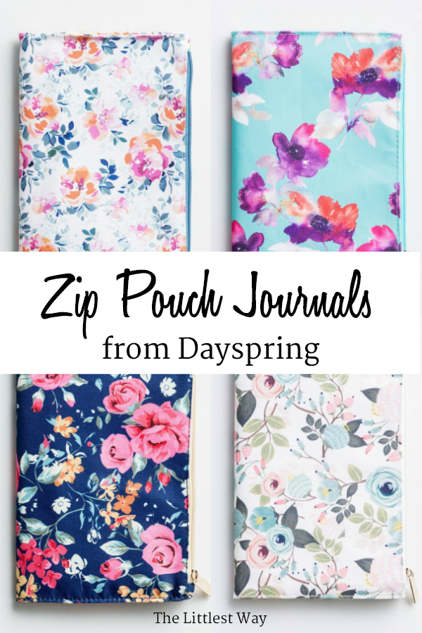 These zip pouch journals are such a great idea to use for the Lent Devotional for Women.