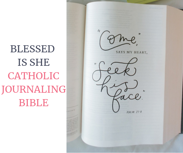Blessed is She Catholic Journaling Bible