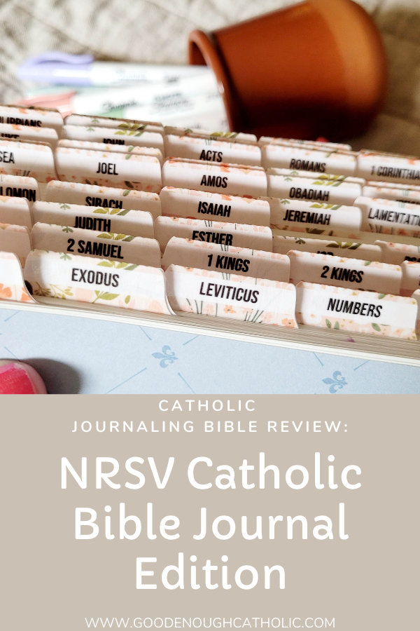 Catholic Bible Tabs