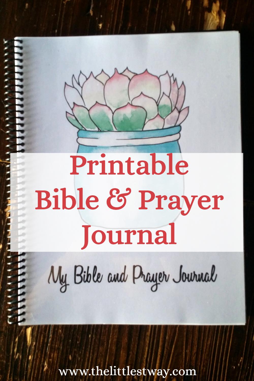 Bible and Prayer Journaling Printable